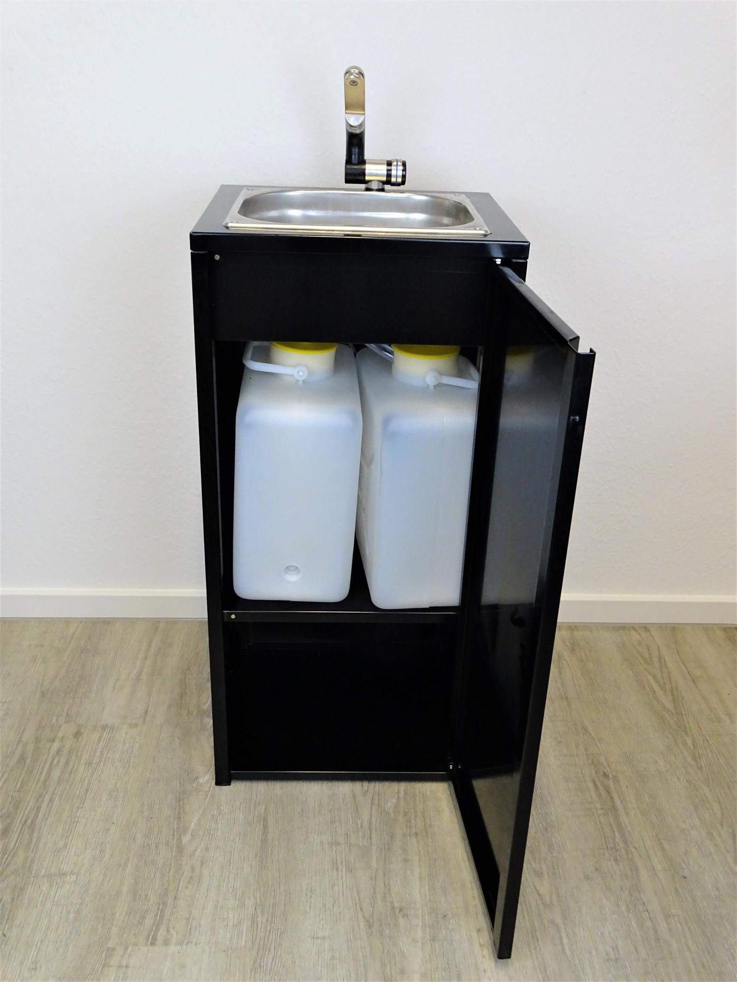 mobiles waschbecken sp lbecken handwaschbecken camping mit k chenrollenhalter ebay. Black Bedroom Furniture Sets. Home Design Ideas