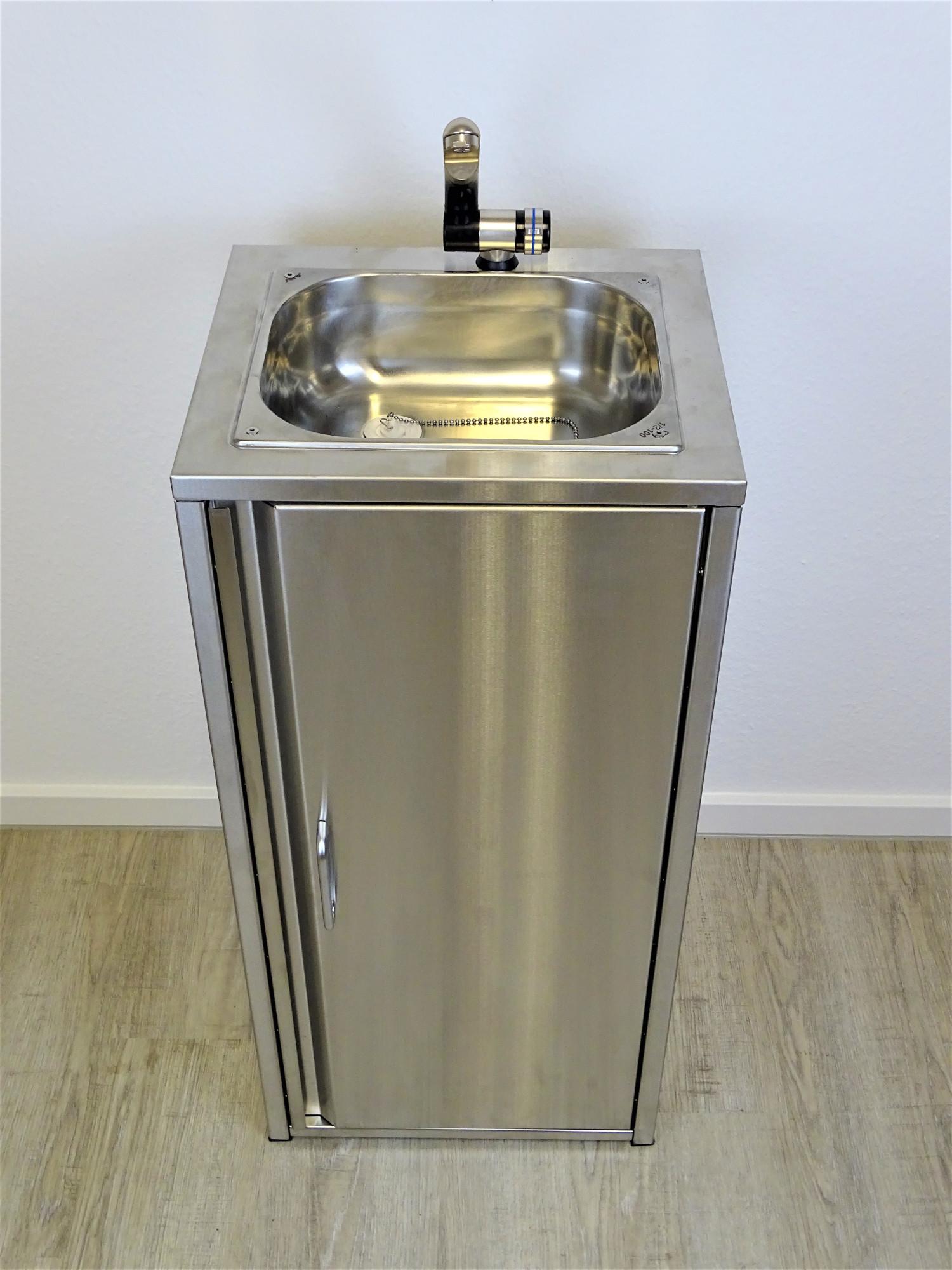 mobiles waschbecken sp lbecken handwaschbecken camping komplett aus edelstahl ebay. Black Bedroom Furniture Sets. Home Design Ideas