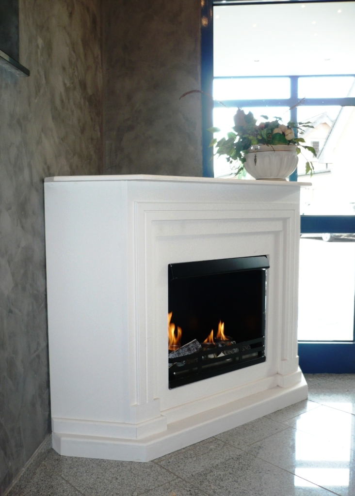 ethanol und gelkamin kamin brenngel ethanolkamin arabella eckkamin weiss neu ebay. Black Bedroom Furniture Sets. Home Design Ideas