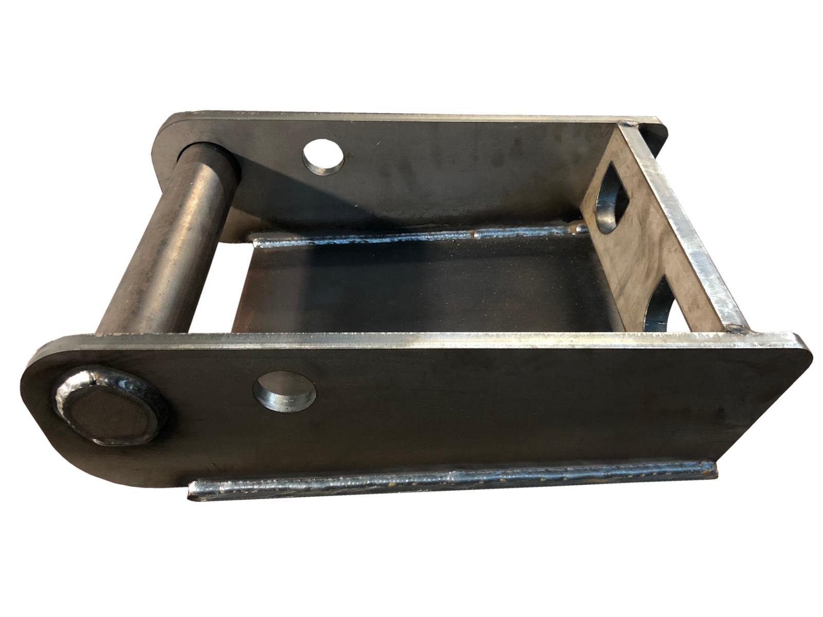 für Minibaggeranbau usw. CW05 Aufnahme zum anschweißen// 2x Einzelteile
